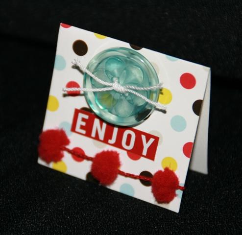 Enjoy card sm